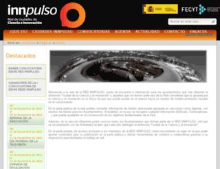innpulso.fecyt.es screenshot