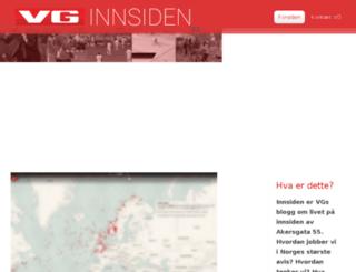 innsiden.vg.no screenshot