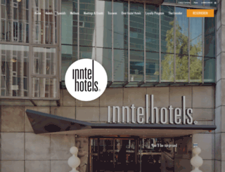 inntelhotels.nl screenshot