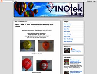 inotekbalon.blogspot.com screenshot