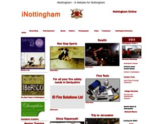 inottingham.co.uk screenshot