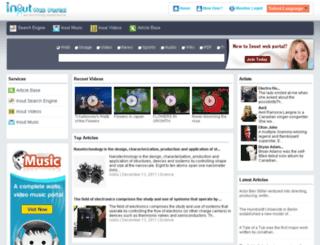 inoutwebportal.com screenshot