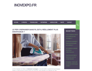 inovexpo.fr screenshot
