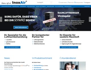 inoxair.de screenshot