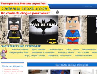 inoxeurope.com screenshot