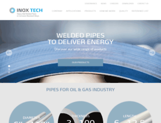 inoxtech.com screenshot