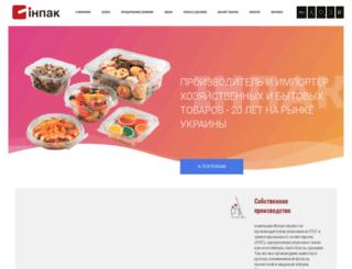 inpack.com.ua screenshot