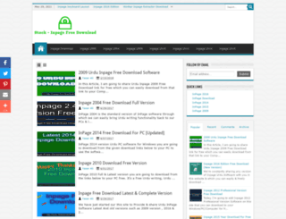 inpage-free-download.blogspot.com screenshot