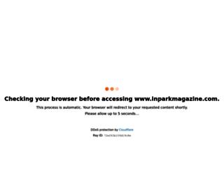 inparkmagazine.com screenshot