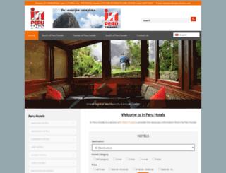 inperuhotels.com screenshot