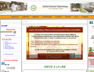 inphb-concours.ci screenshot