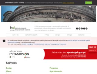 inpi.pt screenshot