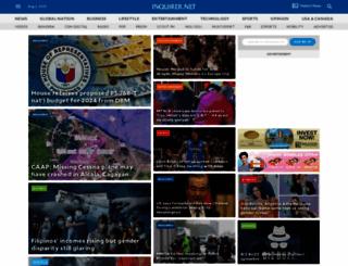 inquirer.net screenshot