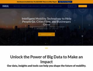 inrix.com screenshot
