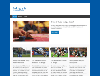 inrugby.fr screenshot