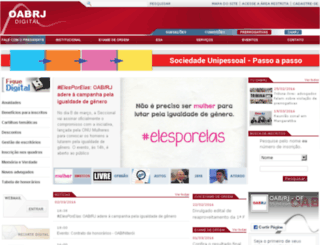 ins.oab-rj.org.br screenshot