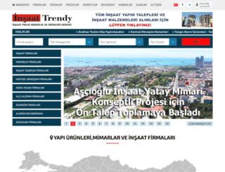 insaattrendy.com screenshot