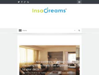 insadreams.com screenshot