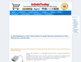insaletoday.com screenshot