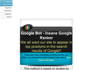 insanegoogleranker.seoultimatetools.com screenshot