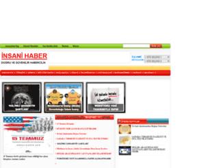 insanihaber.com screenshot