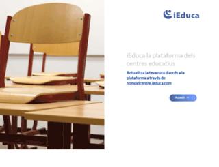inscastellodempuries.ieducacio.com screenshot
