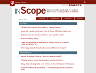 inscope.iu.edu screenshot