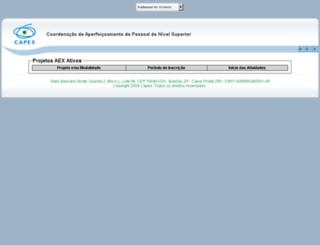 inscricoes-cgbe.capes.gov.br screenshot