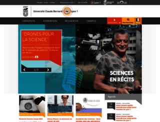 inscriptionweb.univ-lyon1.fr screenshot