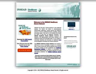 inseadhealthalumni.net screenshot