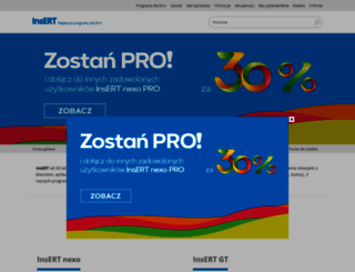 insert.com.pl screenshot