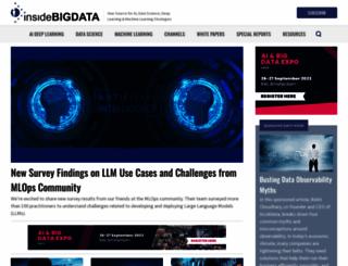 inside-bigdata.com screenshot