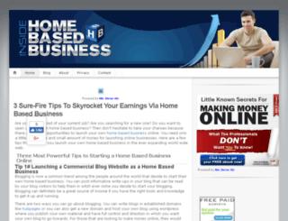 inside-home-based-business.com screenshot