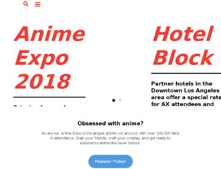 inside.anime-expo.org screenshot