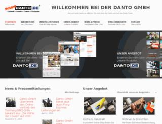 inside.danto.de screenshot