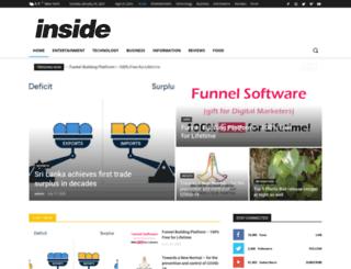 inside.lk screenshot