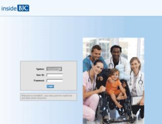 insidebjc.carenet.org screenshot