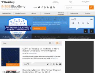 insideblackberry.com screenshot