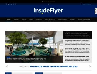 insideflyer.nl screenshot