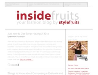 insidefruits.co.uk screenshot