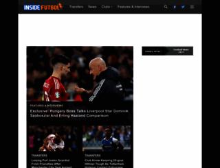 insidefutbol.com screenshot