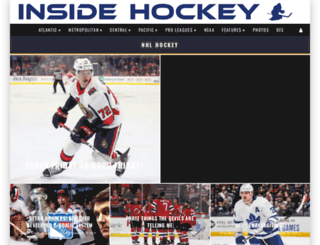 insidehockey.com screenshot