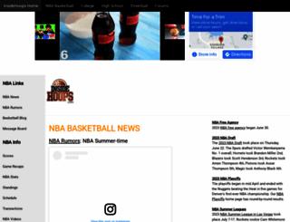 insidehoops.com screenshot