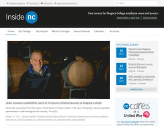 insidenc.niagaracollege.ca screenshot