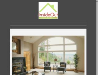 insideoutstagingservices.com screenshot