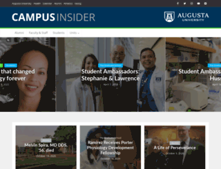 insider.gru.edu screenshot