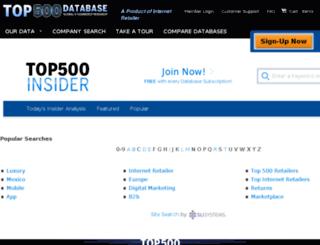 insider.top500guide.com screenshot