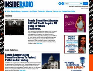 insideradio.com screenshot