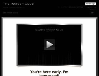 insiderclub.org screenshot