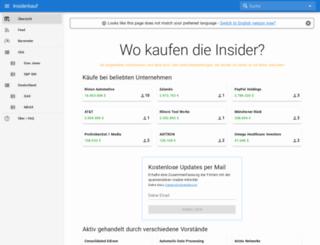 insiderkauf.de screenshot